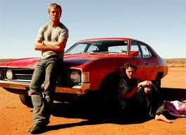 These two and that car are basically the principal cast of Cactus. All three are really good.