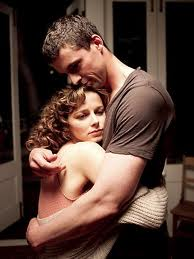 Matthew Goode and Bojana Novakovic who are both incredible in Burning Man