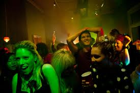 One of the many fantastic party sequences from Not Suitable for Children