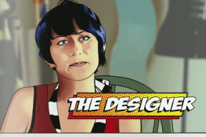 An example of some of the fantastic comic inspired graphics in the film
