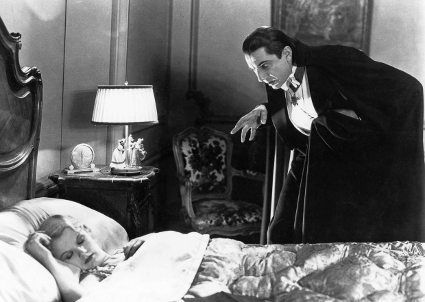 Dracula. Lurking.