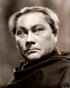 Paul Wegener, who in addition to playing The Golem, directed & wrote the film