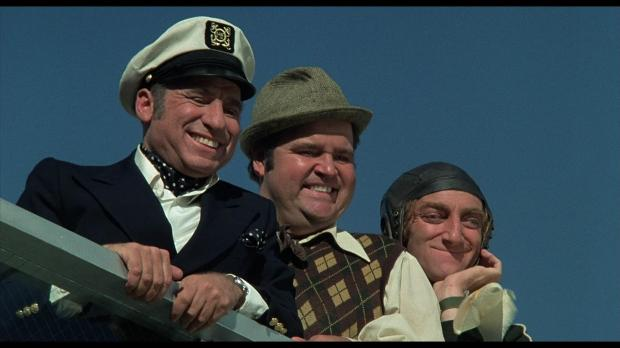 Mel Brooks and his two deeply unfunny co-stars