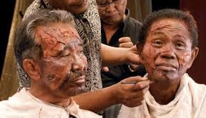 Killing makeup