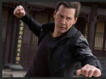 Keanu trying and failing miserable to do martial arts on screen