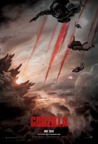 godzilla march poster