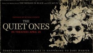 quiet ones poster