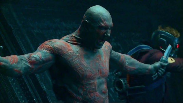 Batista, who is so impressive as Drax.