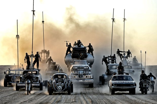 fury road cars