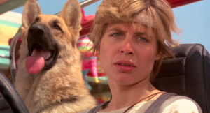 Linda Hamilton, who is so good as Sarah Connor
