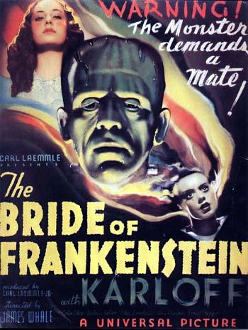 bride of frank poster