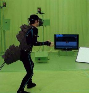 Mo-cap work on Shin Godzilla