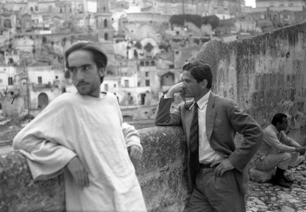 Pasolini chillin with Jesus