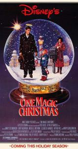 One magic christmas poster