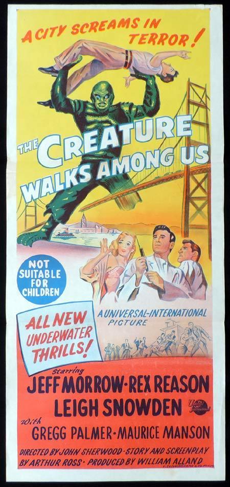 creature walks among us poster
