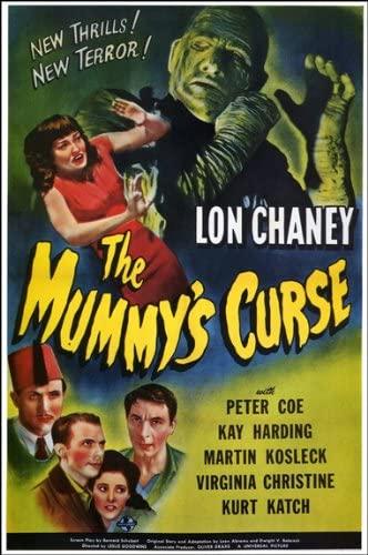 mummys curse poster