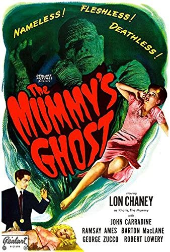 mummys ghost poster