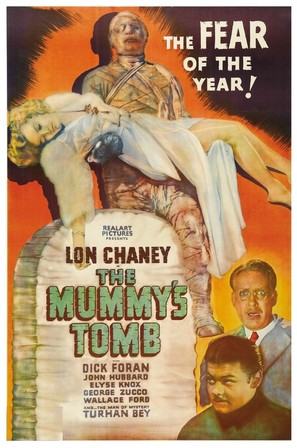 Mummys tomb poster