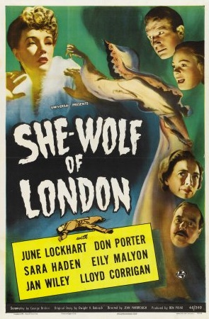 she wolf of london poster