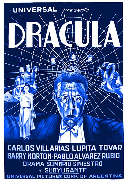 spanish dracula poster