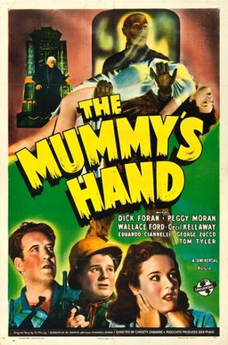 the mummys hand poster